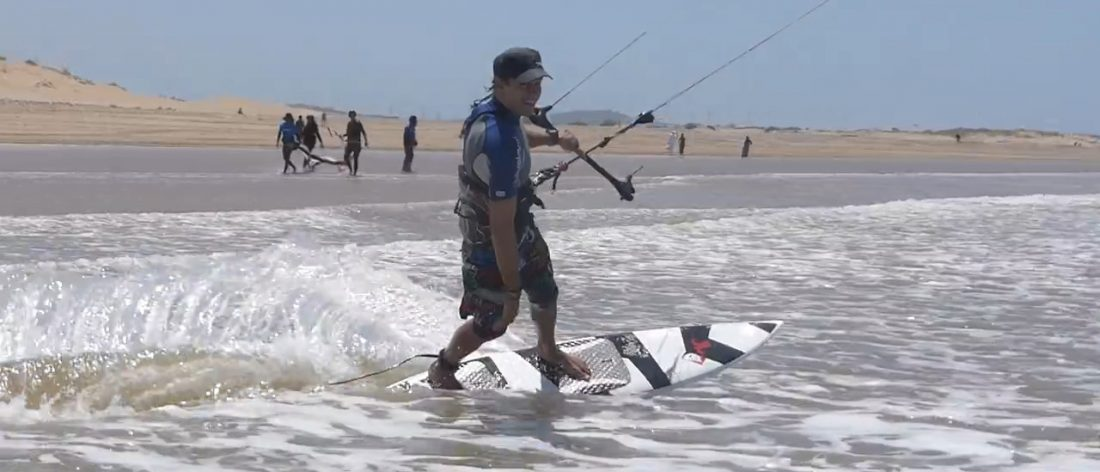 directional board kitesurfing