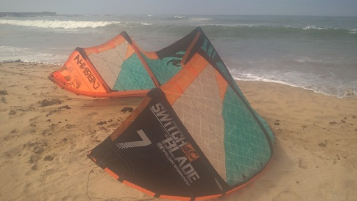 Cabrinha Switchblade best kite for heavy riders