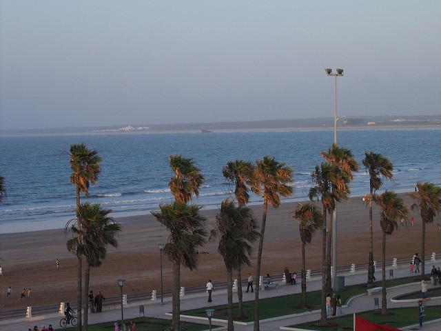 El Jadida kitesurfing spot in Morocco