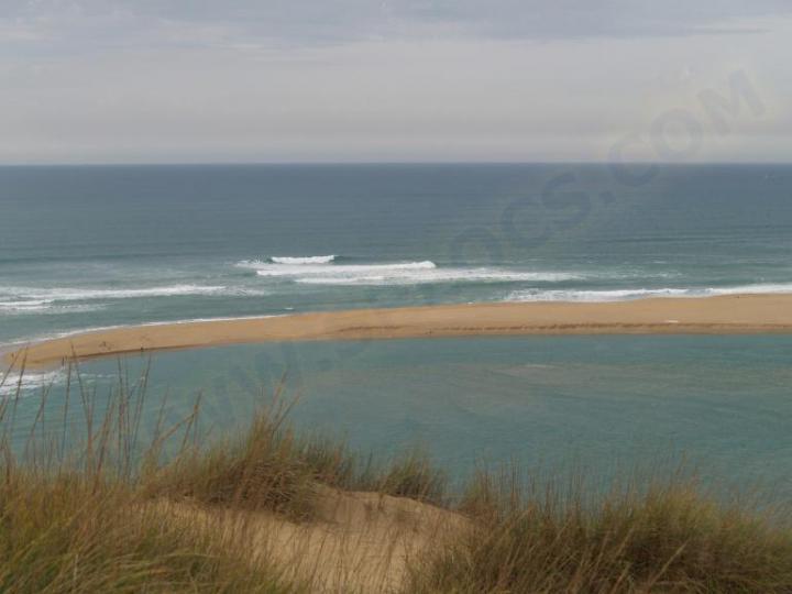 Moulay Bousselham kitesurfing spot in Morocco