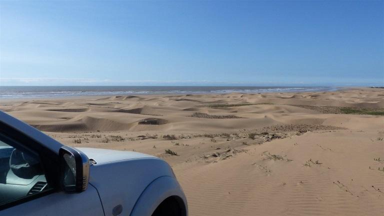 Dune kitesurf spot South of Moulay Bouzerktoun