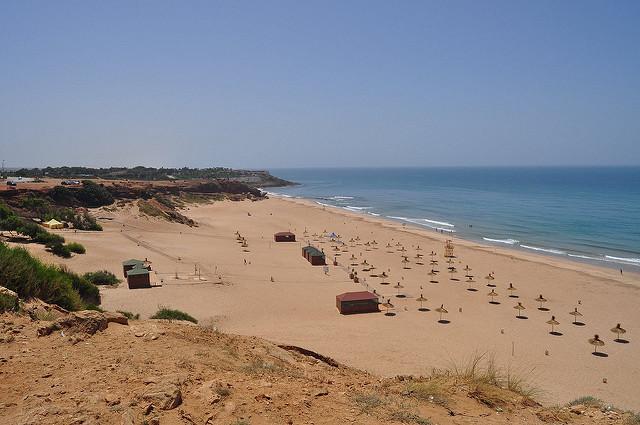 Achakar Cap Spartel kitesurfing spot Morocco
