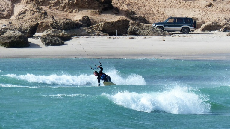 dakhla oum labouir kitesurf spot Morocco