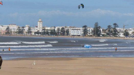 essaouira bay kitesurf spot Morocco