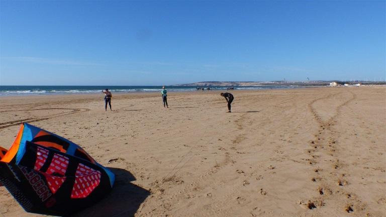 Sidi Kaouki kitesurf spot Morocco