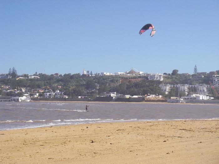 haouzia el jadida kitesurfing spot Morocco
