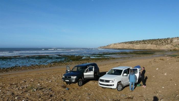 tagenza kitesurf spot Morocco