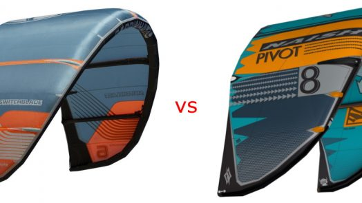 cabrinha switchblade vs naish pivot