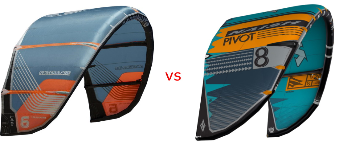 cabrinha switchblade vs naish pivot